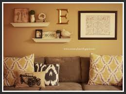 Shelf Decorating Ideas Living Room Decorate Over A Sofa Above The Couch Wall Decor Homes