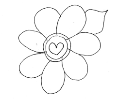 modest flower printable coloring pages gallery 5784 unknown