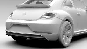 volkswagen beetle 2017 black vw beetle 2017 3d model vehicles 3d models high 3ds max fbx c4d