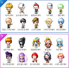 maplestory how to get conflict hairstyle kms ver 1 2 154 dual blade reorganization orange mushroom s blog
