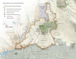Mesa Verde Map The Proposed Bears Ears National Monument Grand Canyon Trust