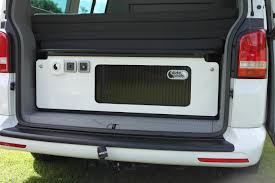 volkswagen caravelle trunk the beach rear kitchen unit slidepod for the vw california beach