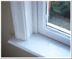 How To Frost A Bathroom Window Diy Window Trim Painting Tricks In My Own Style