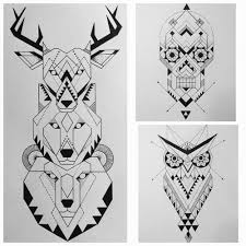 tattoos design tattoos totempole spiritual symmetrical