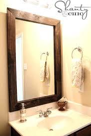 framed bathroom mirrors ideas bathroom mirror ideas on wall charming bathroom wall mirrors framing