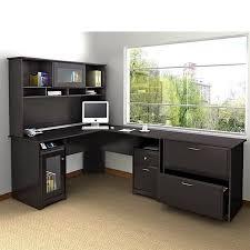 cabot lateral file cabinet in espresso oak bush cabot 3 piece office set in espresso oak walmart com