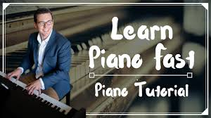 tutorial piano simple learn piano fast i show you the secret to learning piano youtube