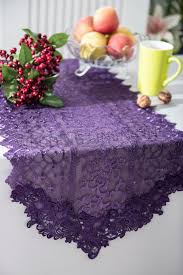 lace table runners wholesale lace table runners eggplant embroidered wedding embroidered table