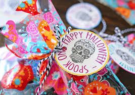Sugar Skulls For Sale Sugar Skull Gift Tags Eighteen25