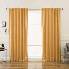 Eclipse Fresno Blackout Curtains by Amazon Com Best Home Fashion Thermal Insulated Blackout Curtains