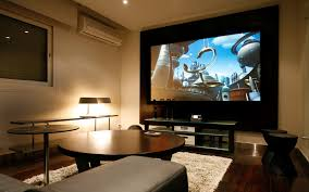 Theatre Room Designs At Home by Big Screen Tv Home Theatre Room Tv And Wall Units