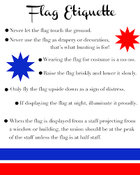Distress Flag Upside Down Your Southern Peach Flag Etiquette