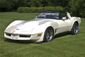1981 white corvette 1981 chevrolet corvette coupe 97217