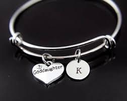 goddaughter charm bracelet goddaughter bracelet silver goddaughter charm bracelet