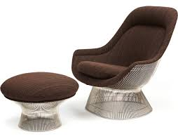 Small Chair And Ottoman by Platner Easy Chair And Ottoman Hivemodern Com