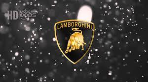 lamborghini logo wallpaper lamborghini logo loop hd free