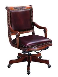 Desk Chair Leather Design Ideas Furniture Luxury Leather Rolling Home Office Chair Design