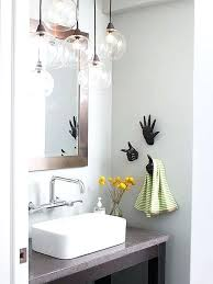Bathroom Globe Lights Pendant Lighting Bathroom Bathroom Globe Bathroom Light Fixtures