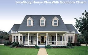 Southern Farmhouse Home Plan Impressive Classic Farmhouse Plans Home Design Ideas
