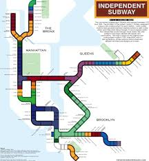 Manhatten Subway Map by This Map Explains The Historic Tile Color System Used In Nyc