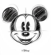 drawn mouse vintage garden pencil and in color drawn mouse