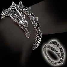 bracelet dragon images Alchemy gothic vis viva dragon bracelet jpg