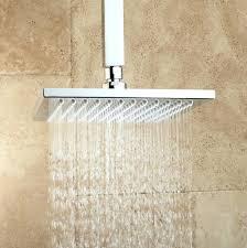 Lowes Shower Head Luxury Shower Heads Cubic Rainfall Head Matte Black U2013 Lendsmart Co