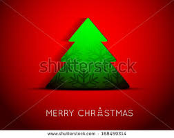 happy new year greeting card origami stock vector 514689253