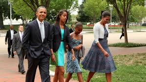 Obama First Family by Let U0027s Talk Nonpolitical The President On His Daughters Super