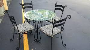 Pier One Bistro Table Beautiful Wrought Iron Kitchen Table Sets Boldventure Info