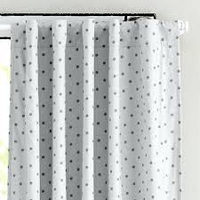 Black Polka Dot Curtains White Blackout Panels Grey Polka Dot Curtain Panels In Curtains