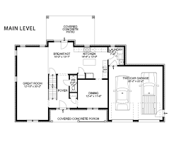 Two Car Garage Floor Plans by The Kelsey Shuster Custom Homes Floor Plans