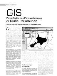 fungsi layout peta dalam sig adalah g i s perkebunan