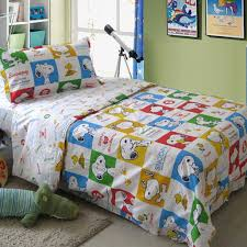 Snoopy Bed Set Snoopy Duvet Cover Set Snoopy Peanuts And Snoopy Merchandise