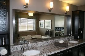 bathroom brushed nickel bathroom mirror affordable bathroom