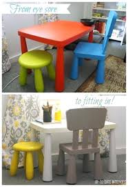 ikea childrens table and chairs your thanksgiving make the kids table fun ikea kids table and chairs