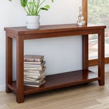 wood and metal sofa table console sofa and entryway tables you u0027ll love wayfair