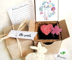 seed paper wedding favors 4x seed planting kit s day gift plantable seed