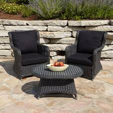 Wicker Patio Lounge Chairs Furniture Cool Wicker Patio Furniture Coral Coast Layton All