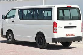 Toyota Hiace Van Interior Dimensions Toyota Hiace 15 Seats Std Roof 4x2 Mpv Minibus Van Autoxl