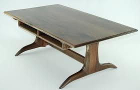 Trestle Coffee Table Walnut Trestle Coffee Table Finewoodworking