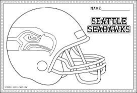 seahawks helmet coloring coloring