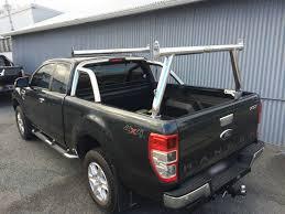 ford ranger ladder racks ford px ranger mki tradesman rack sportsbar extension
