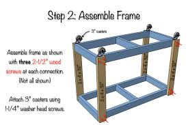Rolling Work Bench Plans Garage Workbench Rolling Workbench Ideas Best Only On Pinterest