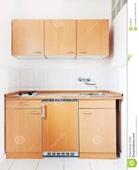 kitchen furniture set white kitchen with furniture set stock image image of fridge