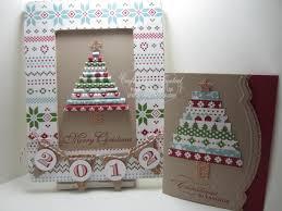 christmas frame u0026 coordinating card u2013 october bonus project