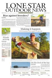 august 28 2015 lone star outdoor news fishing u0026 hunting by