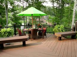 Average Cost To Build A Patio by Budgeting For A Deck Hgtv