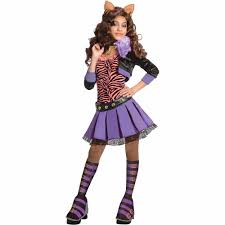 Halloween Monster High Doll Monster High Clawdeen Wolf Child Halloween Costume Walmart Com