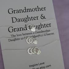 grandmother and granddaughter necklaces best to wedding gift products on wanelo